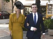 Las fotos de Pablo Casado y su esposa, Isabel Torres, en la boda del hijo de Ángel