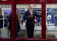 Felipe VI sorprende con esta frase al subirse al Metro de