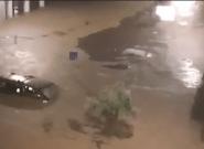 Les images des inondations autour de