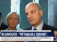 Jean-Michel Blanquer assure que sa philosophie n'est pas le