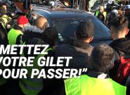 Gilets jaunes: ces automobilistes sommés d'afficher leur soutien pour passer les