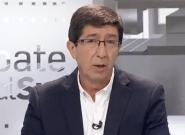 El hachazo de Juan Marín a Moreno Bonilla en pleno debate de candidatos a presidir