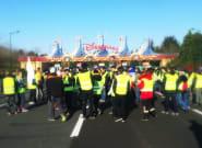 Avec le blocage du 18 novembre, le parking de Disneyland Paris est devenu
