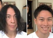 Ce coiffeur pour hommes les relooke pour leur redonner