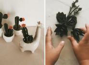 Pour les mariages, cette artiste réalise des bouquets de fleurs très
