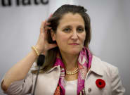 Chrystia Freeland: Trump's Steel, Aluminum Tariffs Have 'Nothing To Do' With USMCA