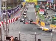 Cinco heridos en este espeluznante accidente en la Fórmula