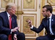 Trump vuelve a mofarse de Macron en pleno aniversario de los atentados de