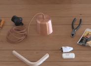 Comment transformer une lampe Ikea en jolie baladeuse