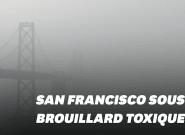 Avec les incendies, San Francisco est recouverte d'un brouillard d'air