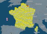 Gilets jaunes: la carte des manifestations du 17