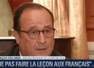 Hollande conseille à Macron de