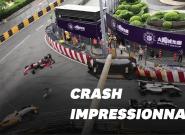 La vidéo de Sofia Flörsch, pilote de Formule 3, et son accident à