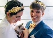 Pour son mariage, ce couple a proposé une