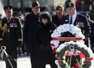 Remembrance Day 2018 Ceremony In Ottawa Features White Wreaths Instead Of
