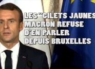 Sur les gilets jaunes, Macron a (encore) dérogé à sa règle depuis