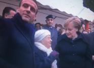 Una mujer de 101 años confunde a Merkel con la mujer de