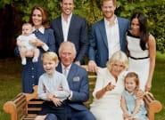 Le Prince Charles immortalisé avec sa famille pour ses 70