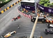À Macao, les images terrifiantes d'un accident de Formule