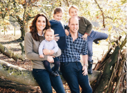 Royal Family Christmas Card Photos Show Off Prince Louis And New Wedding