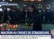 À Strasbourg, l'hommage de Macron aux victimes de