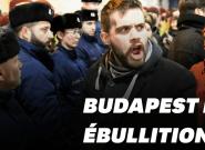 En Hongrie, des milliers de manifestants paralysent le