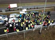 En Pologne, des gilets jaunes agriculteurs