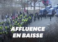À Paris, un acte V des gilets jaunes nettement plus calme que le
