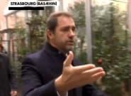 À Strasbourg, Castaner demande aux journalistes de quitter une