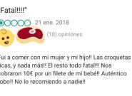 Un restaurante de A Coruña triunfa con su bofetada al cliente que escribió esta queja en