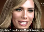 El homenaje a Ángela Ponce durante la final de Miss