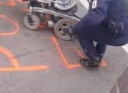 Gilets jaunes: Les pneus d'un fauteuil roulant dégonflés par la police en marge d'un