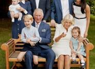 La foto con la que los duques de Cambridge, el príncipe Jorge, la princesa Carlota y el príncipe Luis felicitan la
