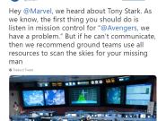 La NASA 'ayuda' a Marvel a rescatar a Ironman del
