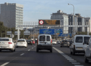 Los vehículos sin etiqueta ambiental de la DGT no podrán circular mañana por la M-30 ni por el centro de