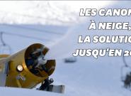 Ca sera grâce à la neige artificielle si les skieurs pourront encore skier en 2050 en