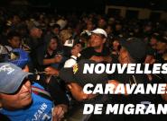 Deux nouvelles caravanes de migrants honduriens en route vers les