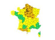 Alerte Météo Neige Verglas: 29 départements en vigilance