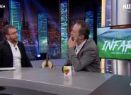 Santi Rodríguez cuenta a Pablo Motos en 'El Hormiguero' (Antena 3) la disparatada reacción de su mujer a su