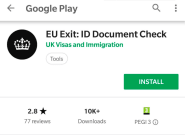 Brexit: une application mobile lancée par le