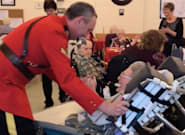 RCMP Officer Takes 100-Year-Old Regina Birthday Gal For A Spin On The Dance