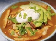 This Slow Cooker Recipe For Chicken Tortilla Soup Is The Perfect Winter