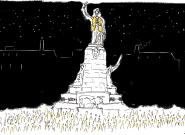 Des gilets jaunes lancent la 1ère nuit jaune pour l'Acte