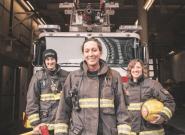 Ces femmes pompiers répondent à une fillette qui pensait qu'elle ne pouvait pas faire ce