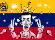 Les images du moment où Juan Guaido s'est autoproclamé