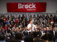 Trudeau Says He Will 'Continue To Condemn The BDS Movement' At St. Catharines Town