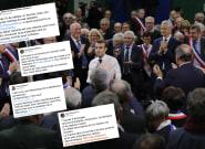 Macron a débattu pendant sept heures à Grand Bourgtheroulde, la majorité salue la