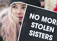 Demonstrators Brave Extreme Cold For 3rd Annual Women's March In