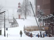 Eastern, Central Canada Smacked By Winter Weather Double
