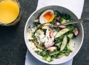 La salade au petit-déjeuner: l'alliée santé pour bien commencer la